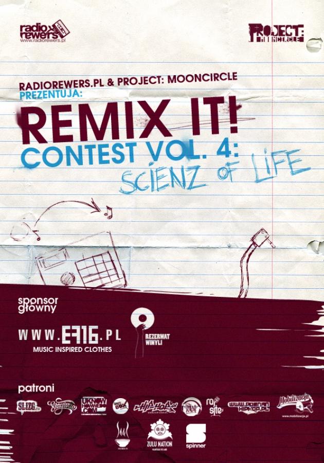RemixIt Contest Plakat